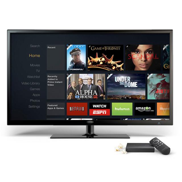 Телевизионная приставка Fire TV от компании Amazon