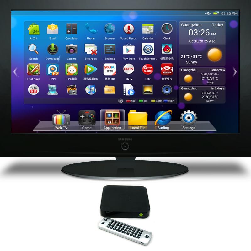 Android TV –новая концепция для «умных» телевизоров от Google